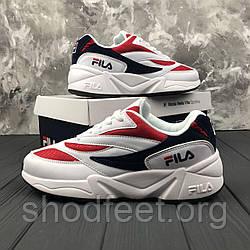 Мужские кроссовки Fila Wenom 94 Low White\Red