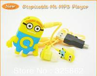 MP3 плеер миньон Гадкий Я+наушники + Mini USB , фото 1