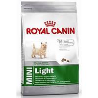 Royal Canin Mini Light сухой корм для собак малых пород склонных к избыточному весу - 800 г