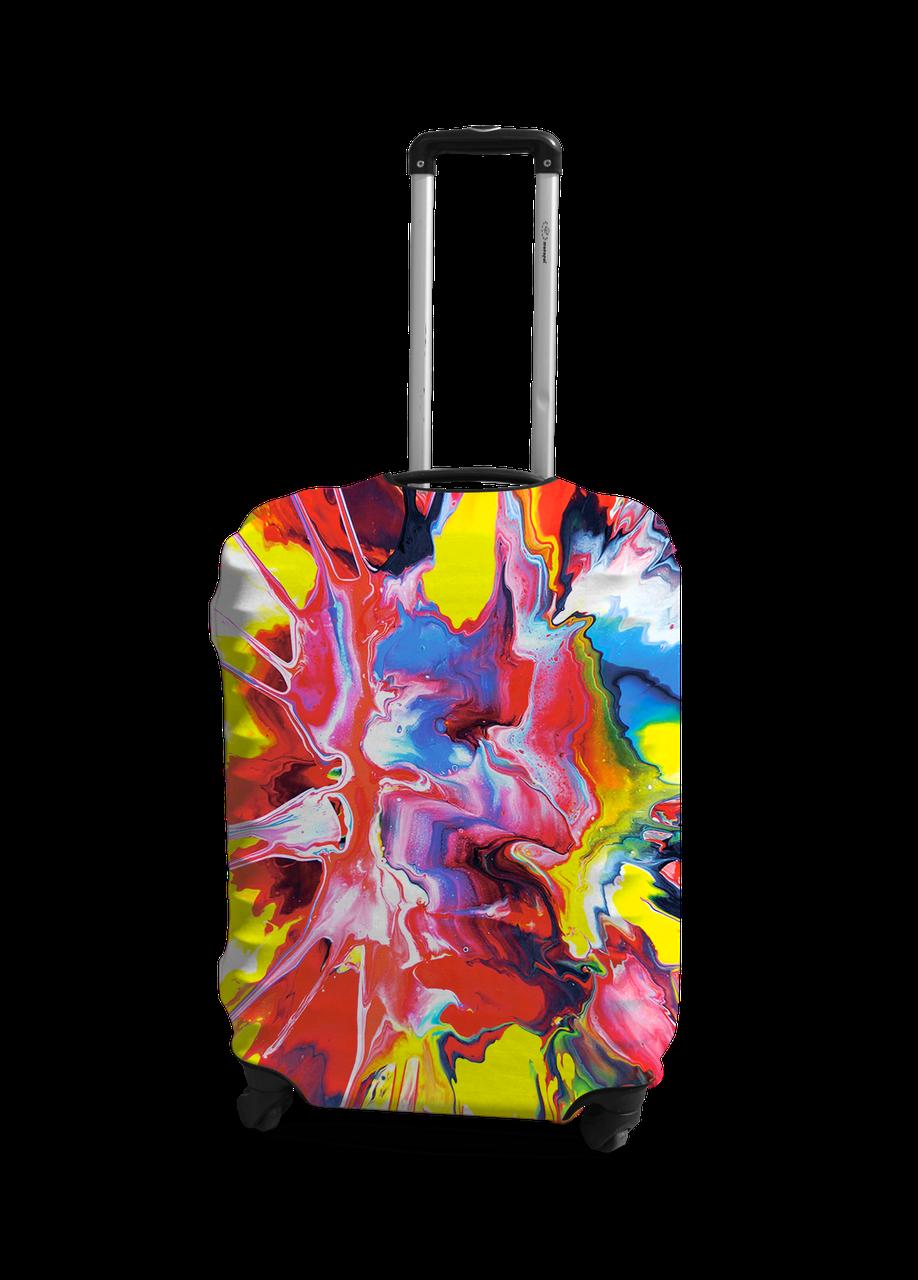 Чехол на чемодан с рисунком Coverbag 0420 размер S