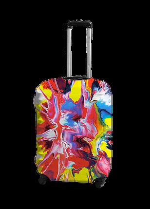Чехол на чемодан с рисунком Coverbag 0420 размер S , фото 2
