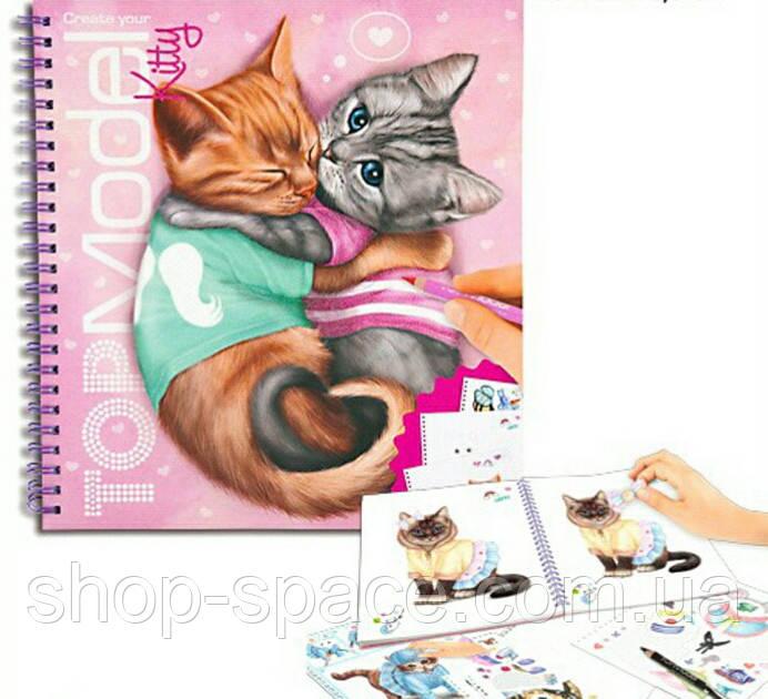 Top Model Создай своего Котёнка журнал для творчества
