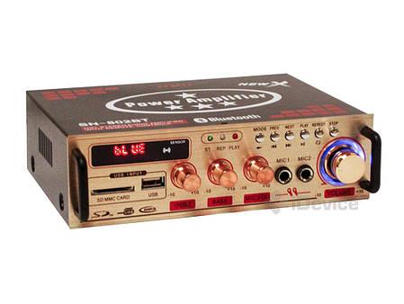Усилитель звука UKC SN-802BT Bluetooth, фото 2