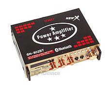 Усилитель звука UKC SN-802BT Bluetooth, фото 3