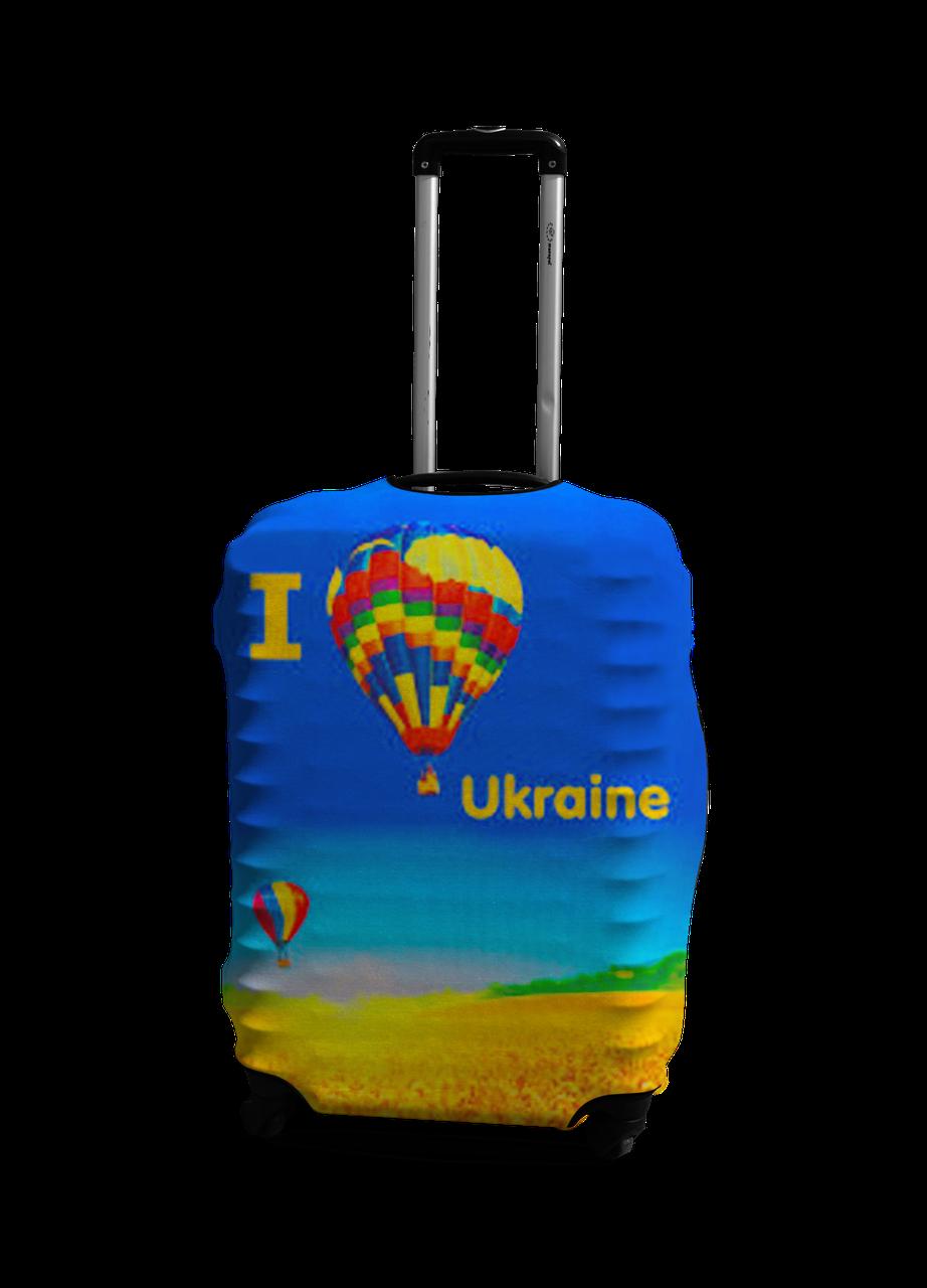 Чехол на чемодан с рисунком Coverbag 0403 размер L