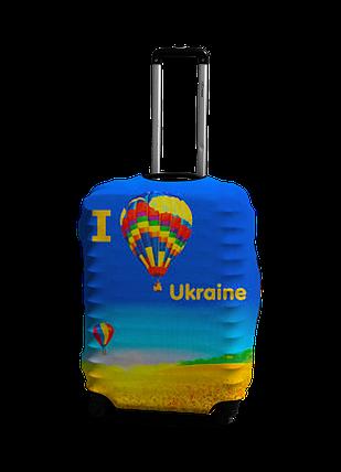 Чехол на чемодан с рисунком Coverbag 0403 размер L, фото 2