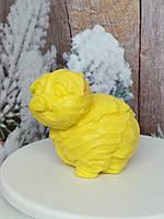 Натуральное мыло хрюша из капусты. Вес 150 г. Креативный подарок на новый год родным и близким