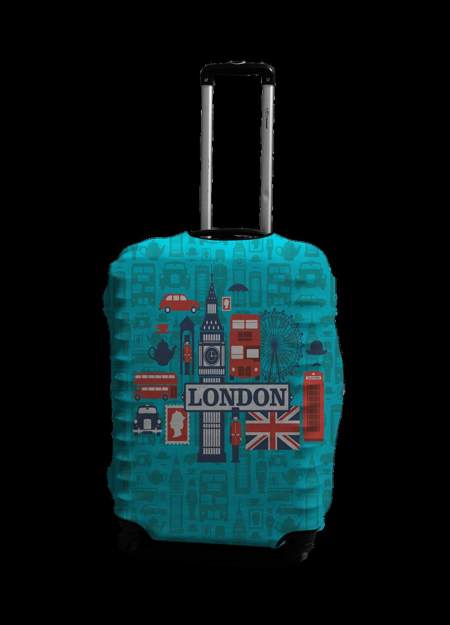 Чехол на чемодан с рисунком Coverbag 0412 размер L