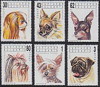 Болгария 1991 собаки - MNH XF