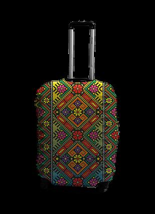 Чехол на чемодан с рисунком Coverbag 0416 размер S, фото 2