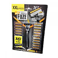 Body-X Fuze станок мужской для бритья + 21 сменная кассета