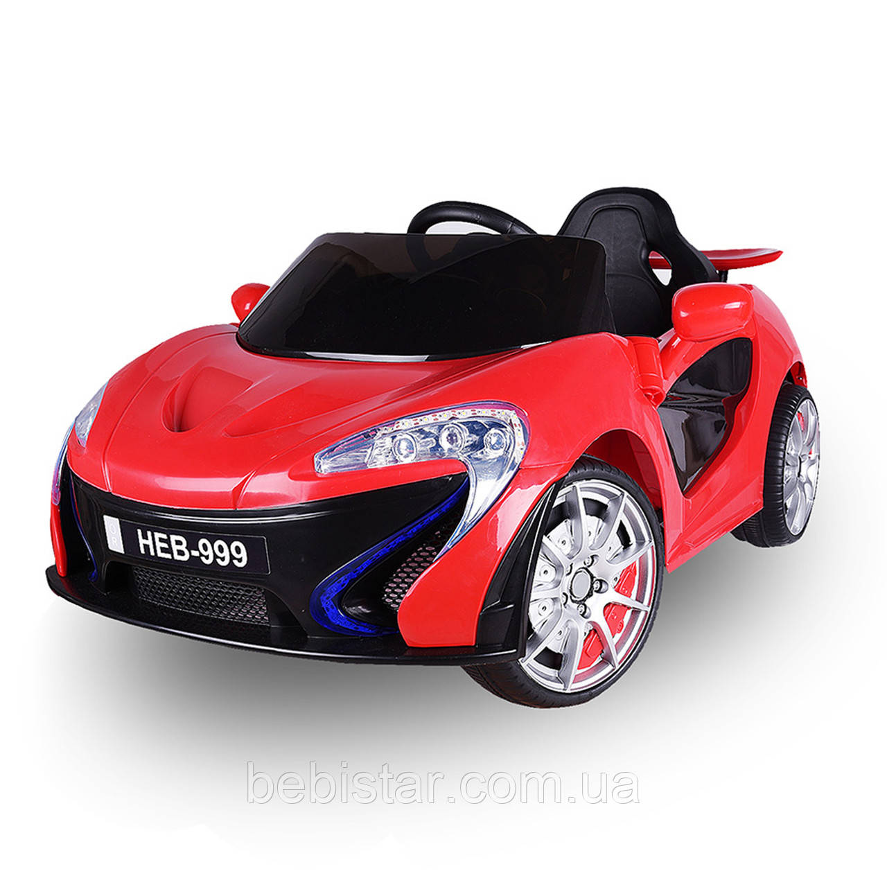 Детский электоромобиль суперкар T-7632 RED деткам 3-8 лет с пультом мотор 2*25W аккумулятор 2*6V4,5AH с MP3