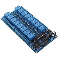 16-ти канальний модуль реле для Arduino, Raspberry Pi, STM32, AVR