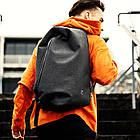 Рюкзак Casual с водоотталкивающим покрытием темно серый, фото 2