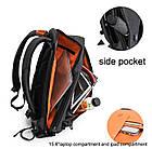 Рюкзак Casual с водоотталкивающим покрытием темно серый, фото 6
