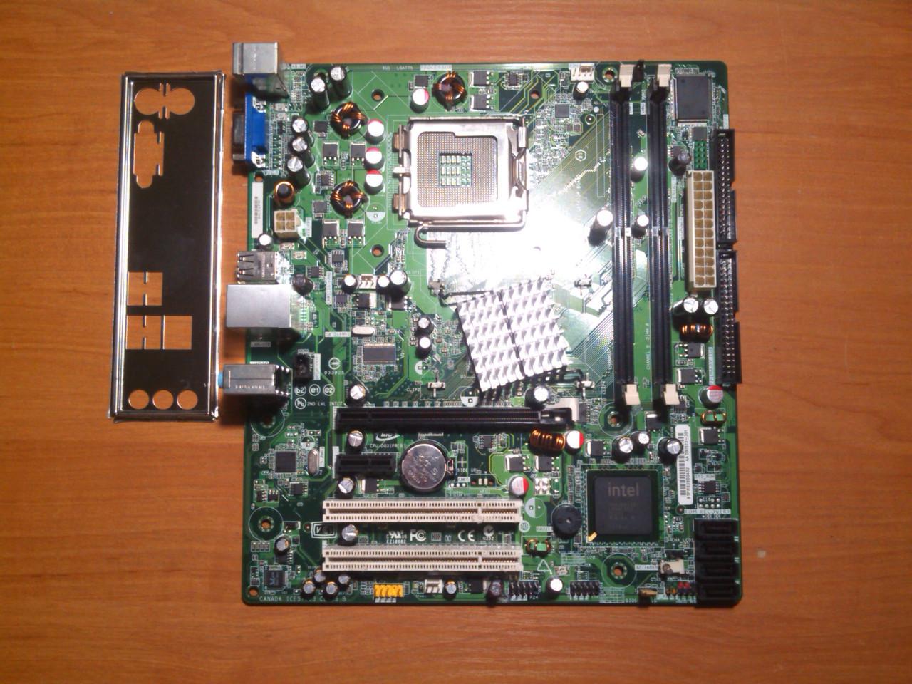 Intel DG31PR сокет 775 Гарантія!