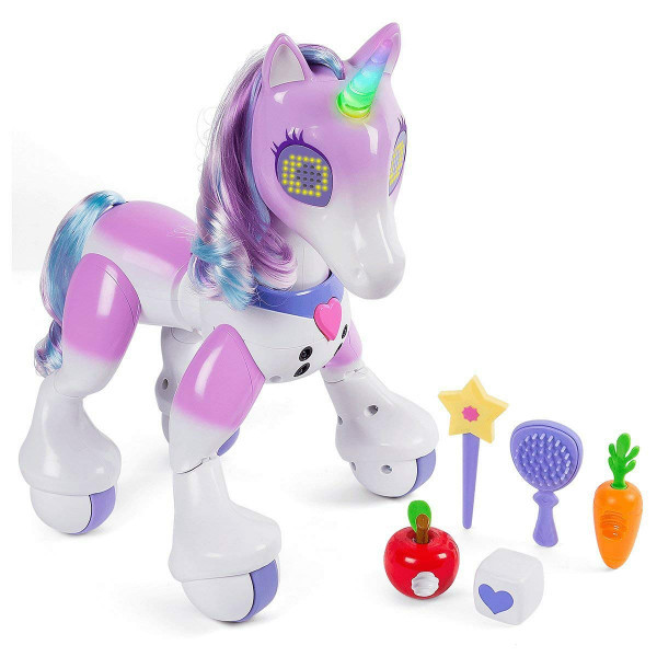 Zoomer Интерактивный волшебный Единорог Enchanted Unicorn Exclusive Interactive Toy