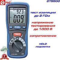 DT5500 мегаомметр