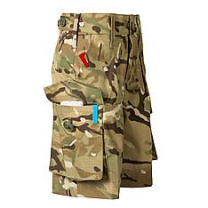 Детские камуфляжные шорты для мальчиков камуфляж MTP аналог военных шорт армии Британии