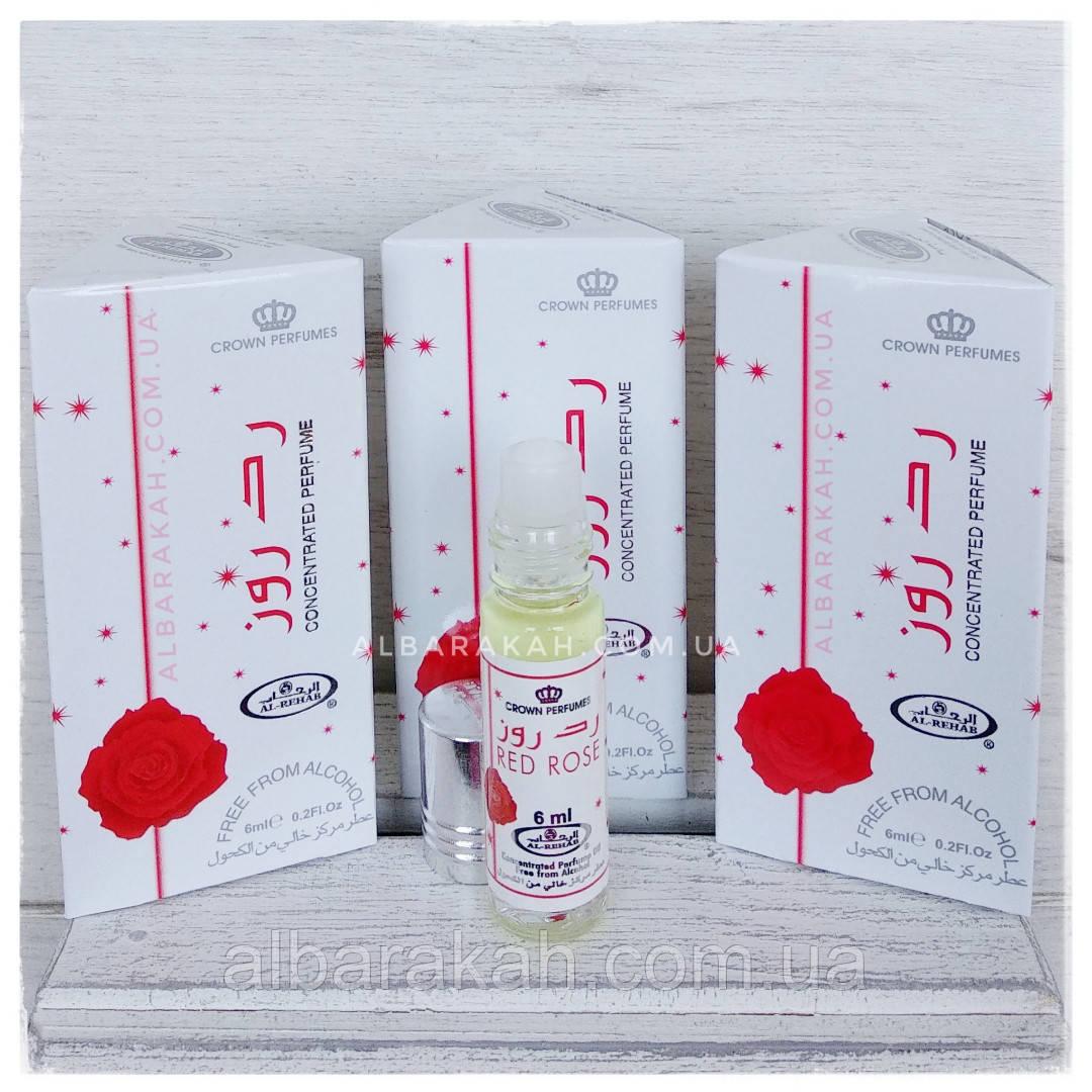 Арабские масляные духи Red Rose Al Rehab (Аль Рехаб) 6 мл