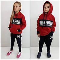 Модный спортивный костюм SQ красный Унисекс, фото 1