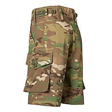 Детские шорты для мальчиков камуфляж Мультикам оригинал аналог военных шорт армии Британии, фото 2