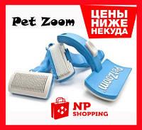 Щітка для тварин самоочисна Pet Zoom self-cleaning brush grooming