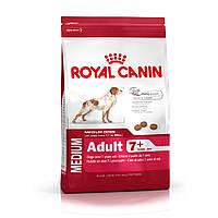 Royal Canin Medium Adult 7+ сухой корм для взрослых собак средних пород старше 7 лет - 4 кг