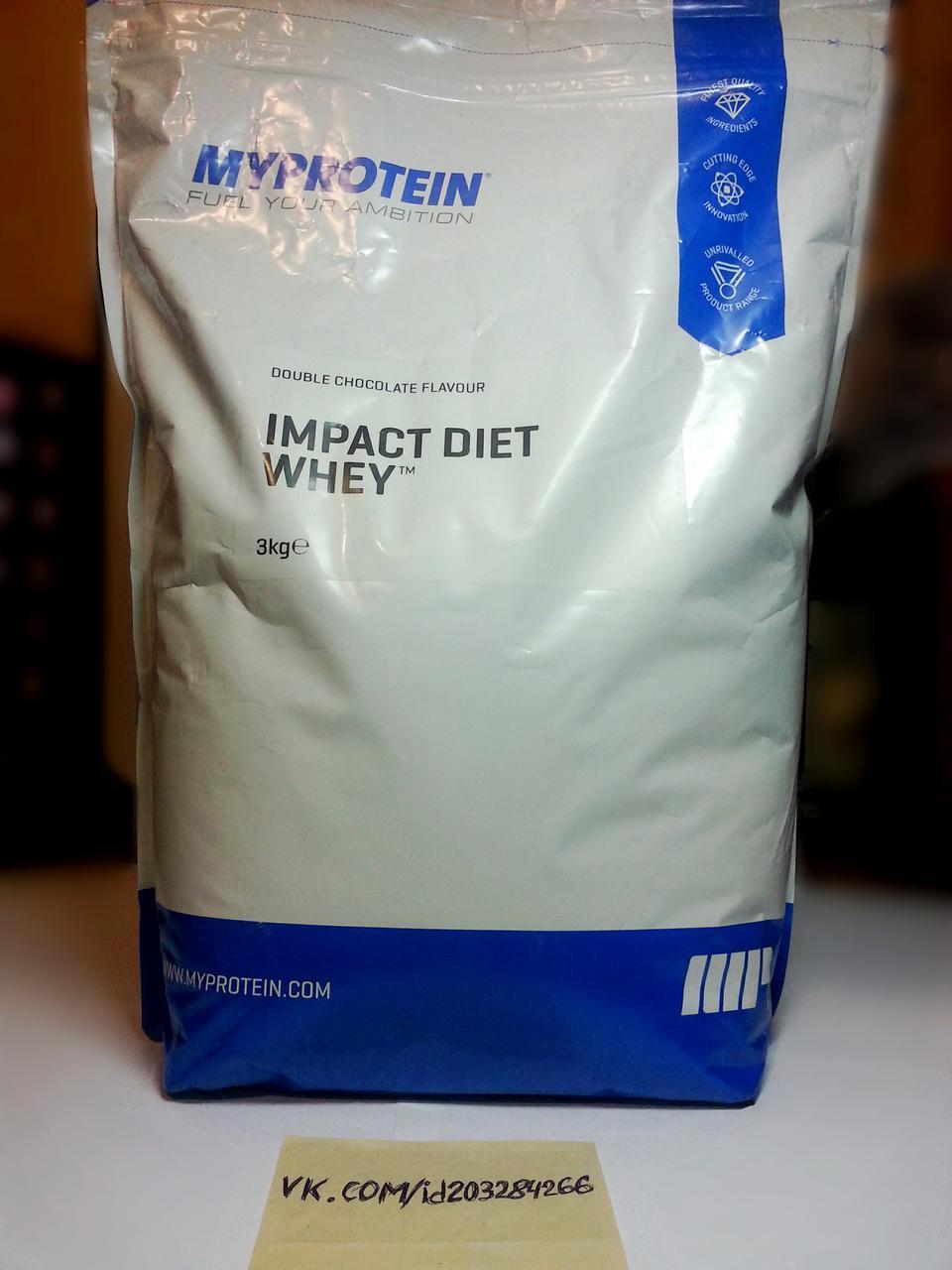 Протеин, MyProtein Impact Diet Whey 3000г