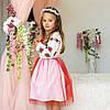 Платье для девочки с вышивкой Трояндочка