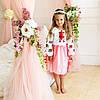 Платье для девочки с вышивкой Трояндочка , фото 2