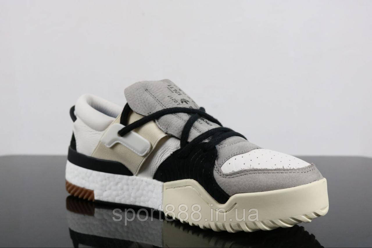 Adidas X Alexander Wang BBall Low Boost White Grey мужские кроссовки