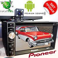 2din Автомагнитола Pioneer FY6140B DVD,GPS, WiFi+Android  6 + КАМЕРА, фото 1