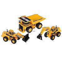 Спецтехника Same Toy Набор Truck Series Карьерная техника (R1804Ut)