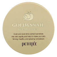 Патч на глаза с гидрогелем Gold & Snail, 60 шт - Petitfee