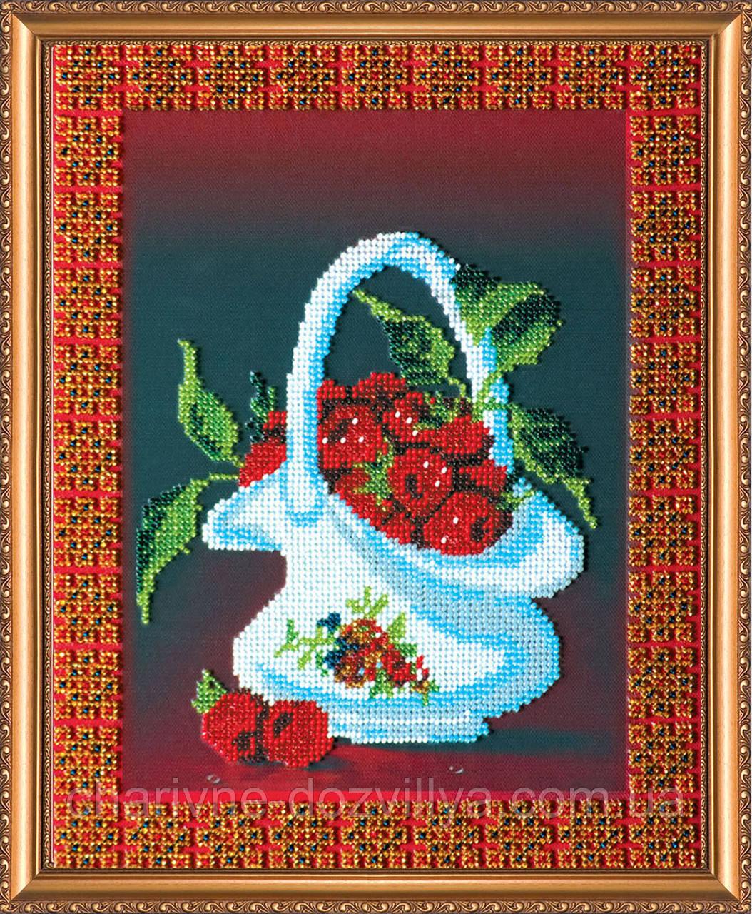 Набор для вышивания бисером Малинка
