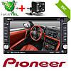 2din Автомагнитола Pioneer 6002B DVD,GPS, WiFi + 4Ядра +Android  6 + КАМЕРА