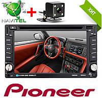 2din Автомагнитола Pioneer 6002B DVD,GPS, WiFi + 4Ядра +Android  6 + КАМЕРА, фото 1