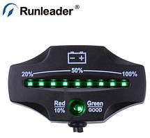 Датчик - индикатор батареи (аккумулятор) Rl-bi006A 12/ 24 V для мотоцикла, электро байка, светодиодный дисплей