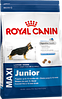 Royal Canin Maxi Junior сухой корм для щенков крупных пород до 15 месяцев - 4 кг