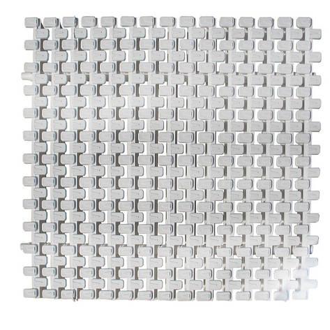Переливная решетка AquaViva Grift с двойным соединением 295x25 мм (белая), фото 2