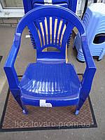 Кресло синие тюльпан