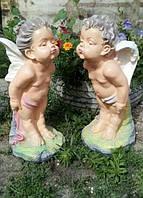 Статуэтка парная Ангелы поцелуйчики большие 52 см