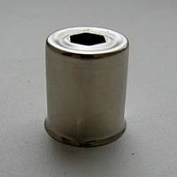 Колпачок метал. на магнетрон D нар.=15 D вн.=14,3 L=17,5 отв. шестигран. Samsung
