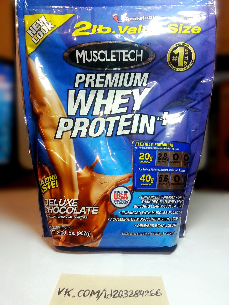 Протеин Muscletech Premium Whey Protein Plus 907г