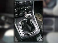 Чехол ручки кпп Audi 80 B3, B4, (кожзам)