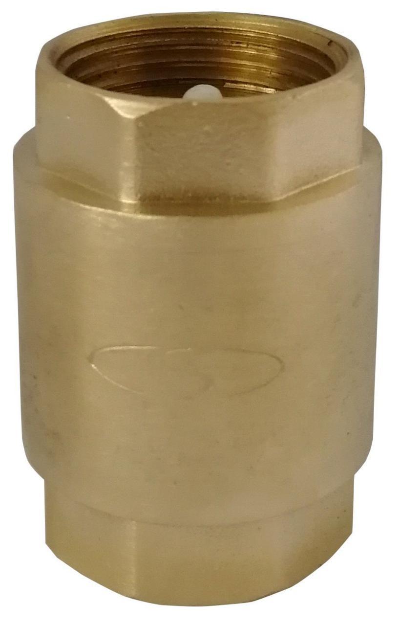 """Клапан обратного хода воды Solomon 6021 с пластиковым штоком 2 1/2"""""""