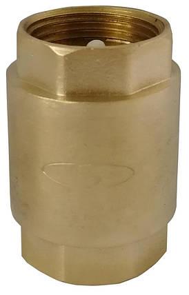 """Клапан обратного хода воды Solomon 6021 с пластиковым штоком 2 1/2"""", фото 2"""