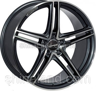 Литые диски Replica Mercedes-Benz BK5252 9,5x20 5x112 ET45 dia66,6 (GM)