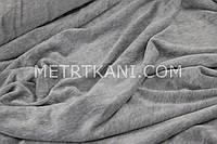 Велюр х/б  цвет серый-меланж, ширина 180см № В-015